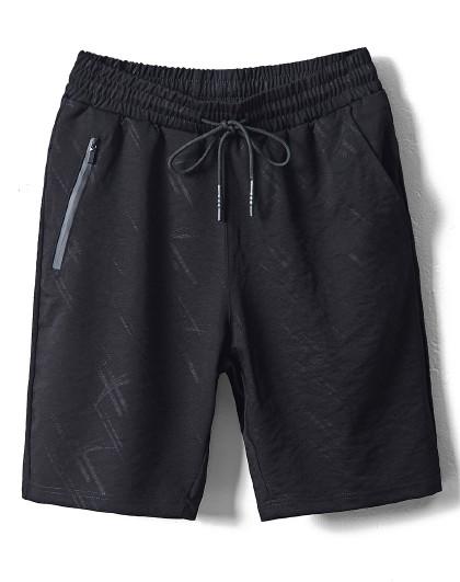 GLM 森马旗下夏季新款男款短裤亲肤舒适中裤宽松直筒校园运动五分裤