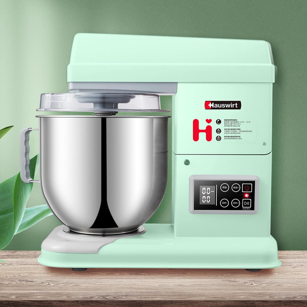 海氏 M6多功能厨师机家用全自动和面机商用静音7L鲜奶打蛋器揉面机