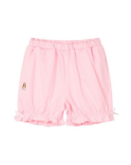 【80-130】暇步士童装新款女童短裤运动短裤三分裤