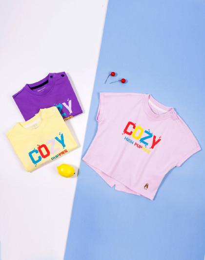【80-130】暇步士童装2020新款小童圆领衫儿童短袖T恤