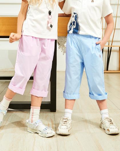 夏季新款儿童短裤七分裤男童女童短裤休闲短裤