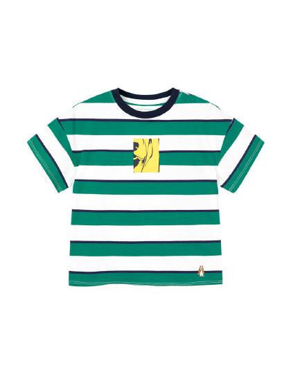 【专柜同款80-170】暇步士童装2020新款儿童圆领衫短袖T恤