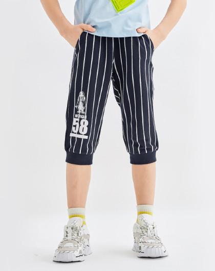 童装2020新款男童七分裤儿童短裤运动短裤