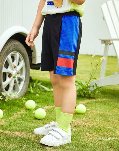 【80-130】暇步士童装2020新款儿童五分裤男童运动短裤