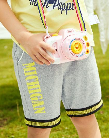【专柜同款80-130】暇步士童装2020新款儿童短裤男童短裤
