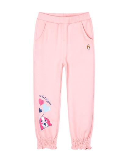 【80-130】春装新款儿童针织长裤女童长裤小童束口运动裤