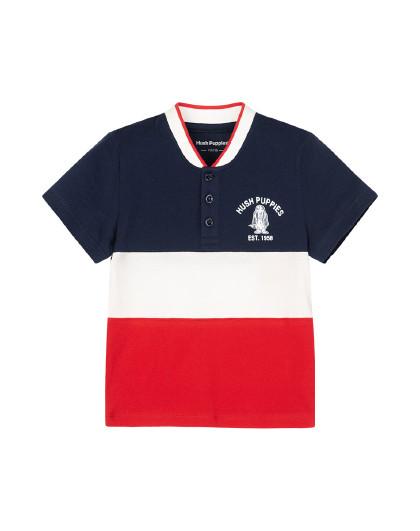 21年夏装新款儿童短袖Polo衫男童POLO衫全棉运动T恤