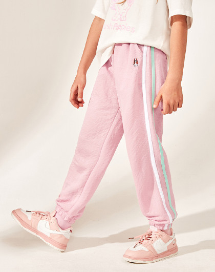 21年春夏新款儿童长裤男童女童防蚊裤舒适仿棉麻薄裤子
