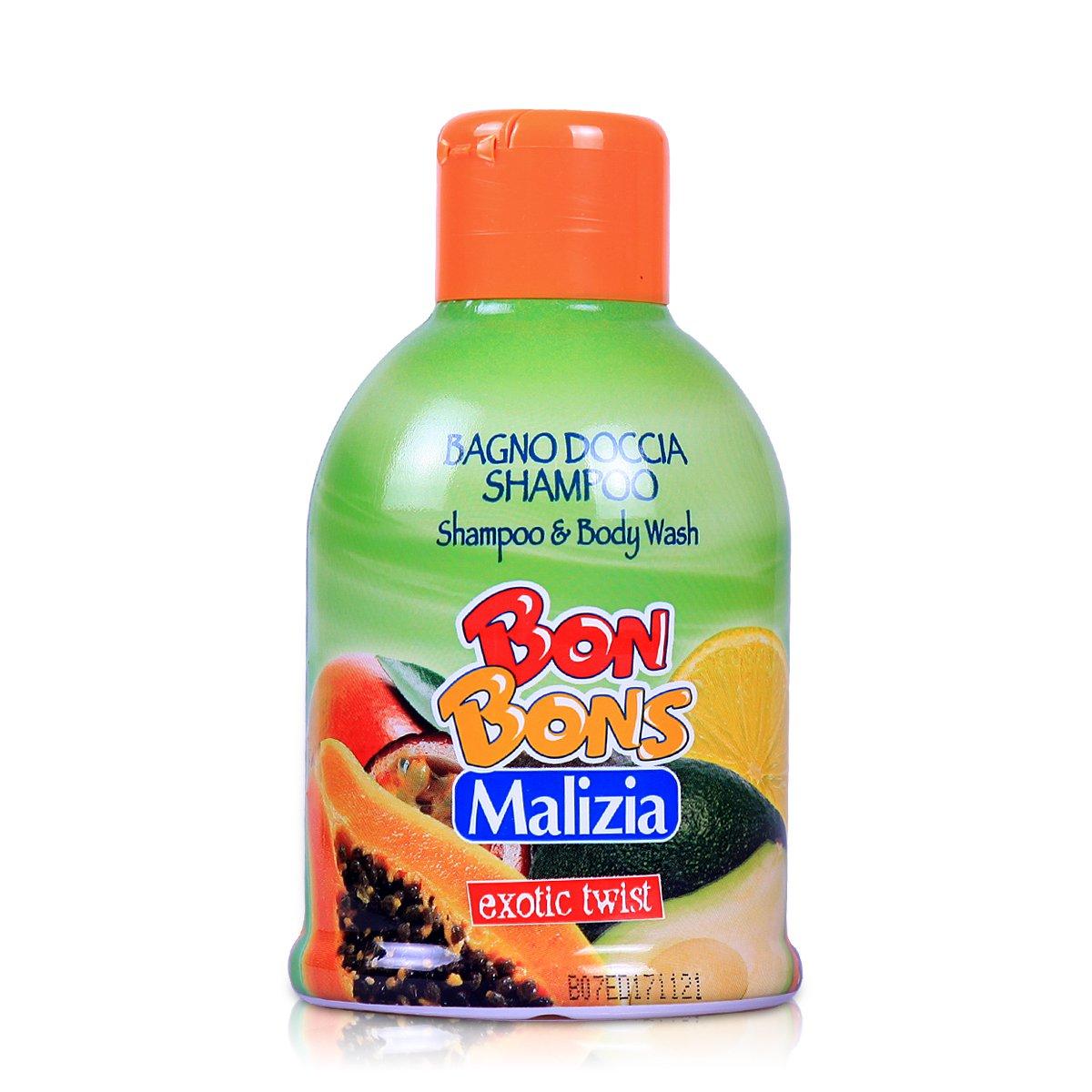 Malizia 玛莉吉亚棒棒糖二合一洗发沐浴(异国情调)500ml 沐浴乳