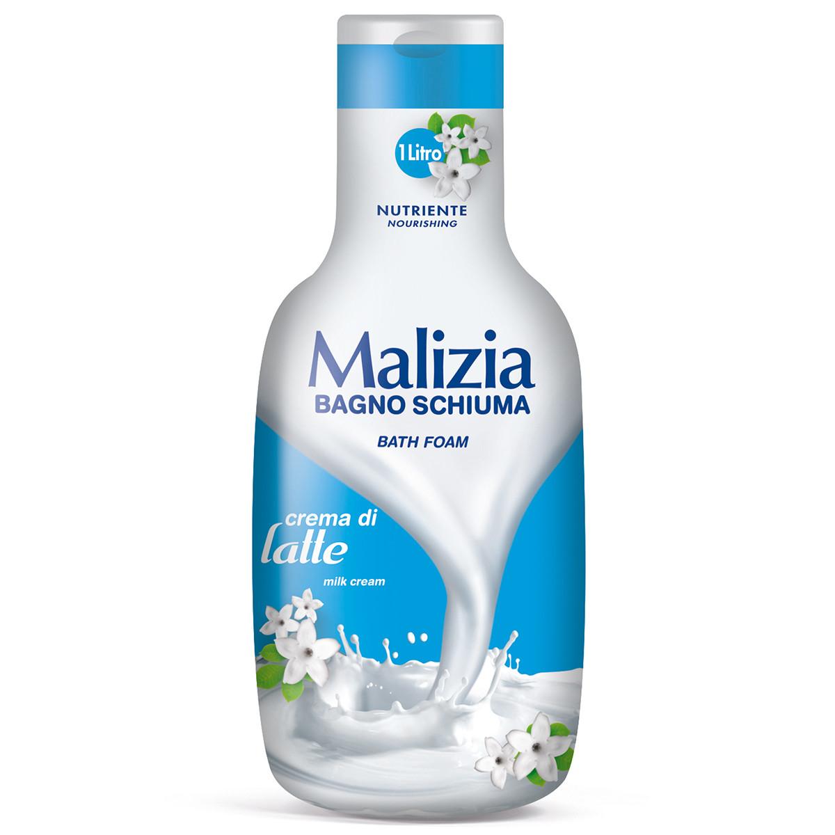 Malizia 玛莉吉亚沐浴露(牛奶)1000ml 清洁 新老包装随机发货