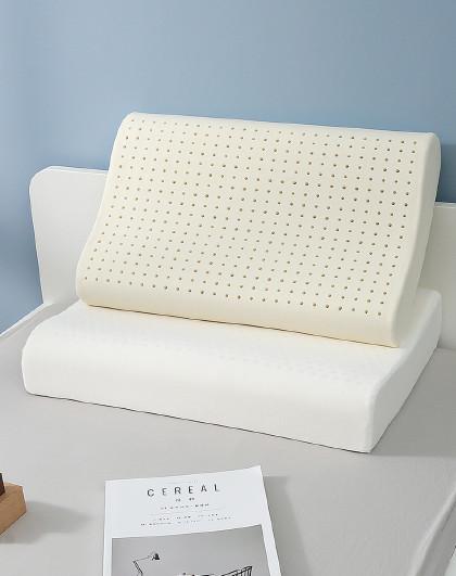 成人乳胶枕头学生单人枕护颈椎天然橡胶家用枕芯夏天透气
