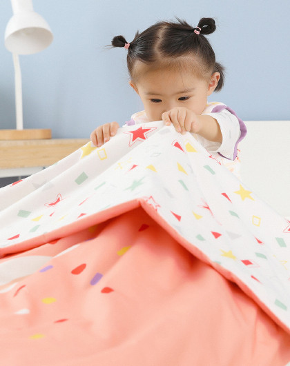 婴儿秋冬蚕丝被宝宝加厚盖被新生儿宝宝婴儿床被子