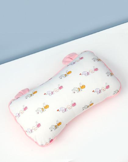 枕头纯棉加长吸汗透气备用小号新生婴儿全棉儿童替换卡通枕套