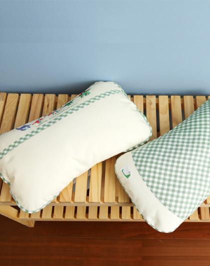 【新品】良良0-3岁婴儿枕头新生儿护头枕宝宝加长护形枕防偏头