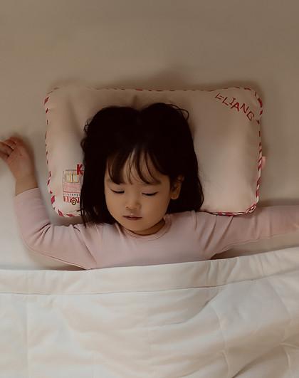 婴儿枕头0-3岁新生宝宝定型枕夏季透气防偏头儿童枕四季通用