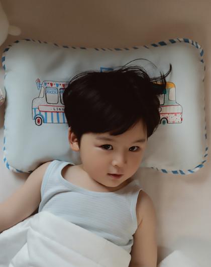 婴儿枕头2-3-6岁新生儿宝宝枕头幼儿园护型小枕头四季通用