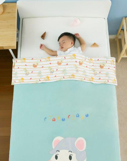 儿童被子加厚秋冬婴儿棉被午睡幼儿园小宝宝新生四季通用盖被