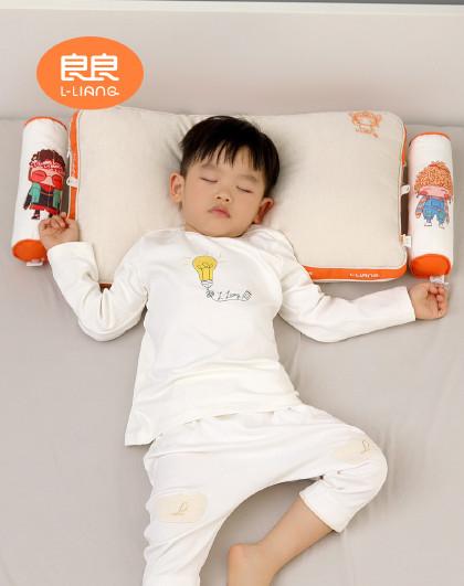 儿童枕头4-8-12岁学生枕小孩单人护颈椎PE软管枕四季通用