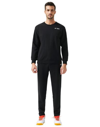 秋季新款羽毛球运动服男款尤尼克斯官网正品长袖上衣卫衣