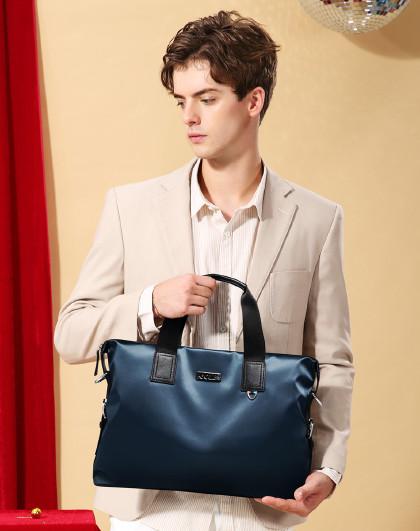 高尔夫男包轻尼龙13.3寸电脑包男士包包商务公文包男士手提包