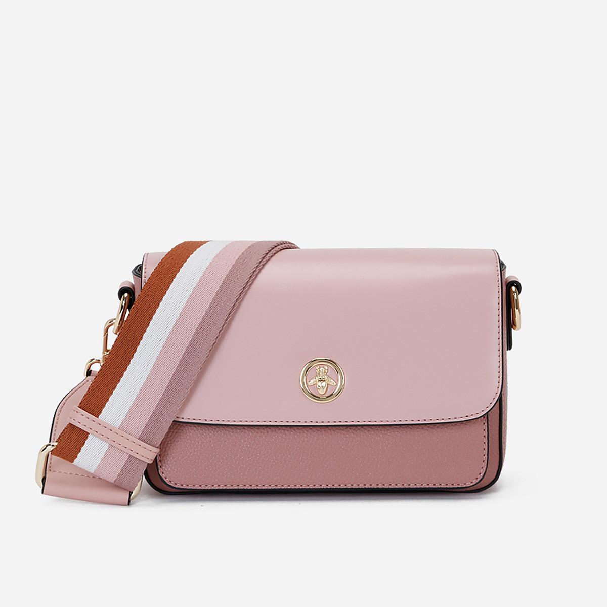 蒙娜丽莎 【专柜同款】2019新款包包时尚宽肩带单肩包斜挎包女包