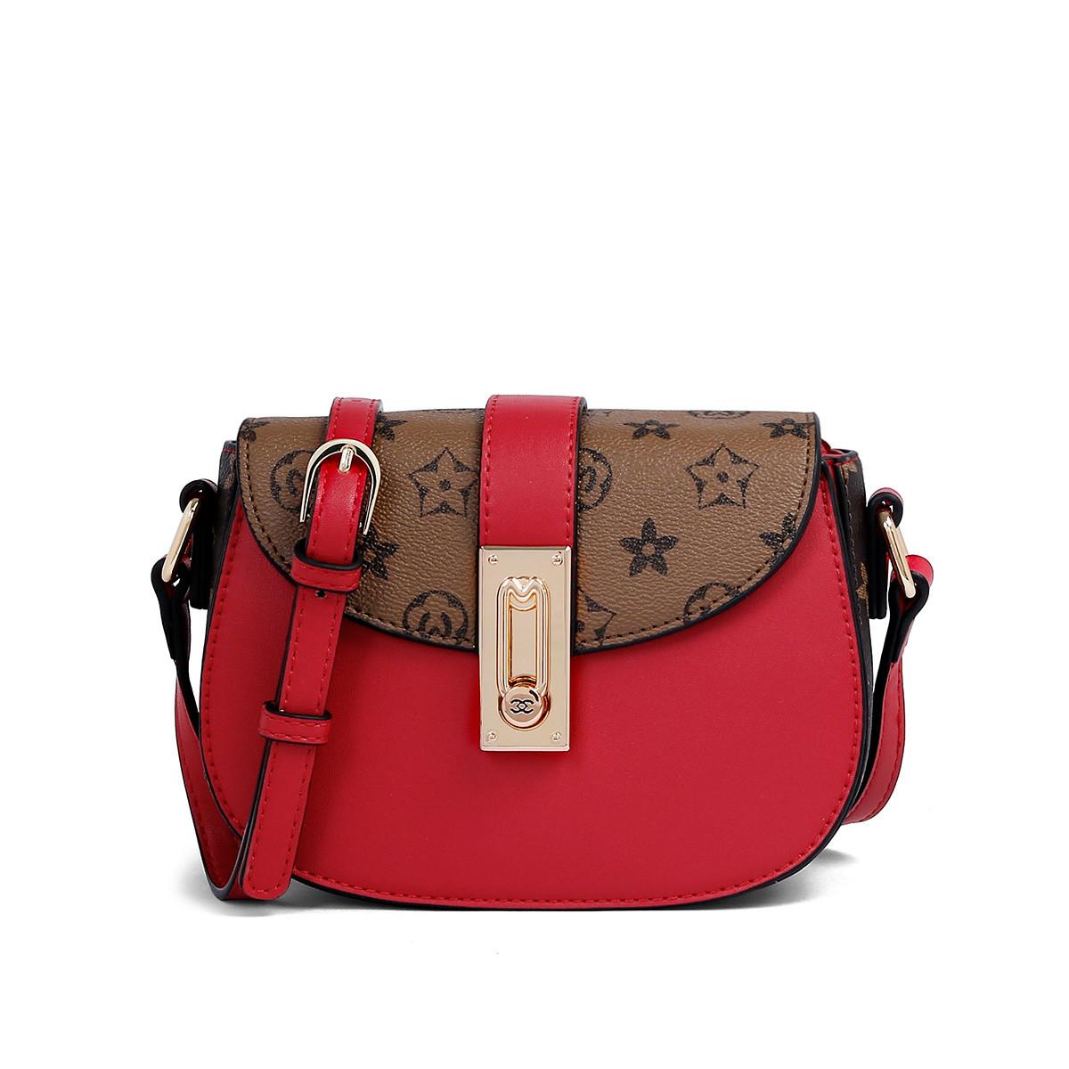 蒙娜丽莎 2019新款小包包时尚女士手提包百搭单肩斜挎包女包