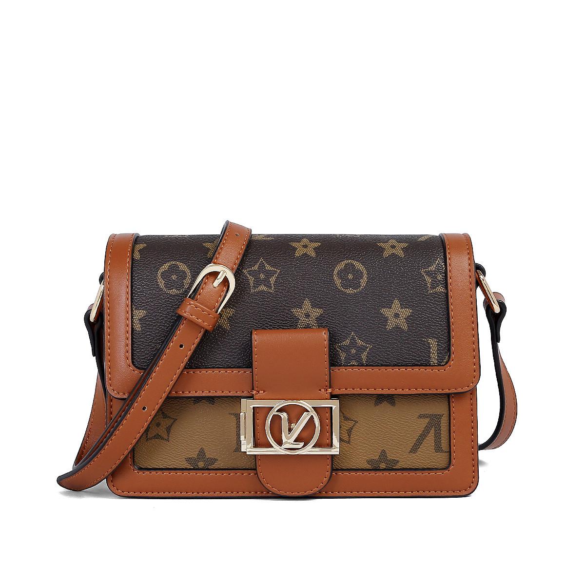 蒙娜丽莎 新款手机包小包包复古时尚单肩包斜挎包女包