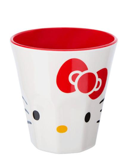 斯凯达凯蒂猫亚克力水杯 透明清新塑料杯子 健康耐热口杯