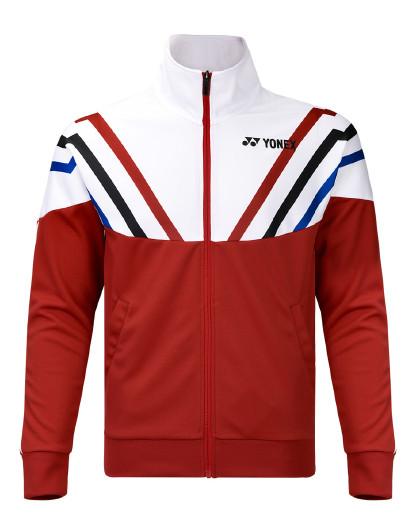 YONEX/尤尼克斯官网 新品立领羽毛球服男士卫衣运动上衣