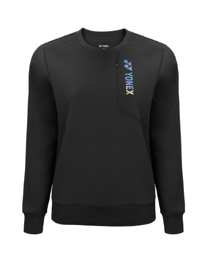YONEX/尤尼克斯官网 新品圆领速干长袖女士卫衣运动上衣