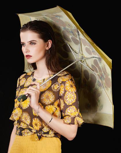 富尔顿 英国进口王室御用 名画复刻超轻口袋防晒伞