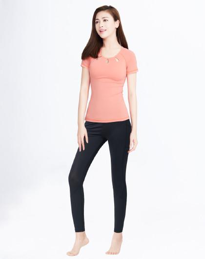 瑜伽服运动套装女2021春夏新款网红衣健身房性感跑步瑜珈服