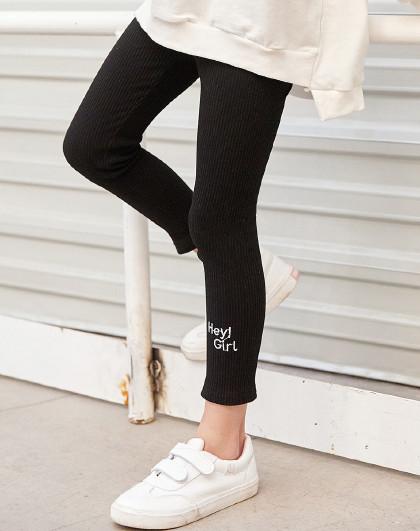 南极人 女童打底裤儿童女宝宝外穿弹力修身铅笔裤女孩运动休闲裤