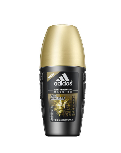 adidas 【2件起售】阿迪达斯男士抑汗清新走珠香体液50ml   腋下滚珠止汗清新