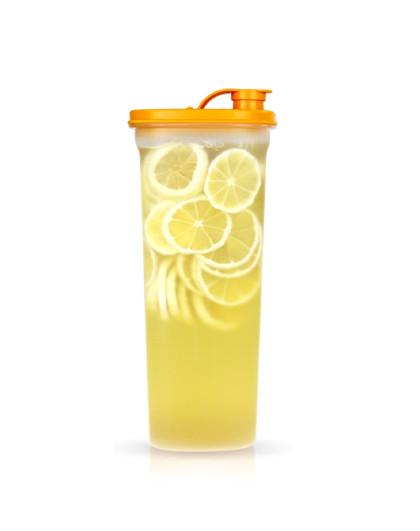 特百惠 纤巧壶 塑料冷水壶带滤格大容量酵素壶 2L纤巧壶和组合套装