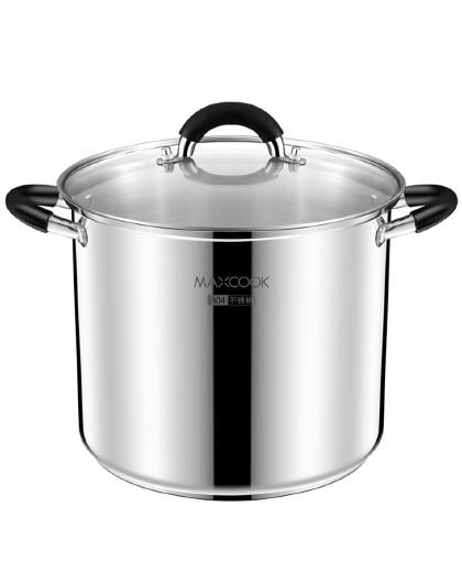 美厨 多层复合底磁炉通用304不锈钢24cm多用锅汤锅高汤锅