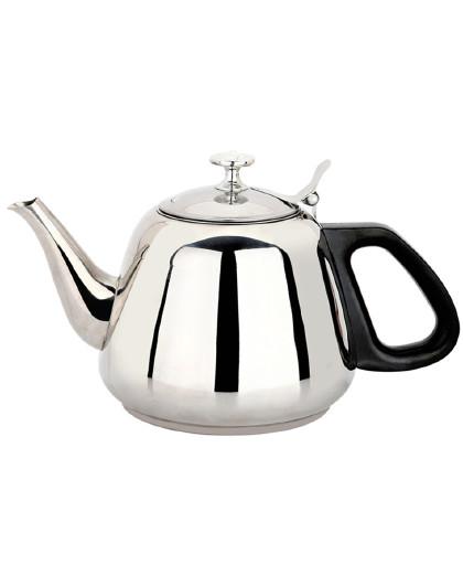 美厨 家用1.3L带滤隔网不锈钢烧茶水壶茶壶烧水壶