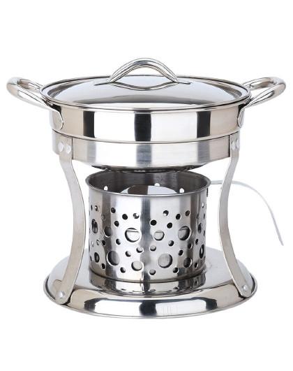 美厨 固态液态酒精通用不锈钢酒精炉干锅小火锅