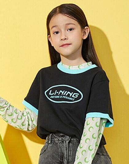 儿童新款纯棉T恤男女小中大童舒适百搭短袖衫110-175码