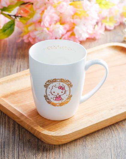 HELLOKITTY凯蒂猫马克杯咖啡杯陶瓷杯创意情侣牛奶