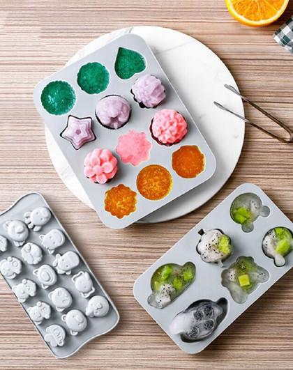 巧克力模具米糕模具果冻布丁糖果模具蛋糕蒸糕宝宝辅食模具3件套