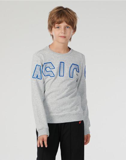 /亚瑟士7-12岁上装卫衣2034A362