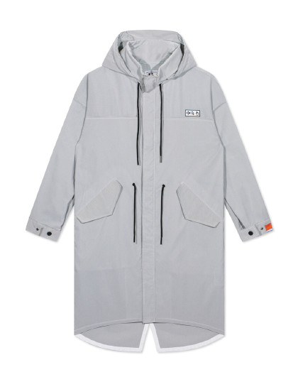 GXG 男款休闲时尚长款防风风衣