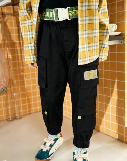 GXG.KIDS GXG童装男童裤子春秋款中大童男童工装裤儿童休闲裤