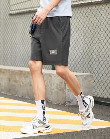 gxg.jeans 夏季新款针织短裤男士休闲裤