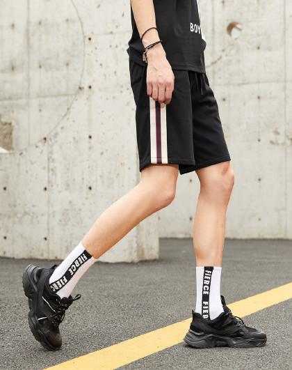 gxg.jeans 夏新款针织短裤男士休闲裤