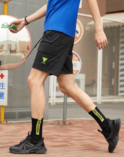 gxg.jeans 2020夏季新款休闲直筒短裤男士休闲裤