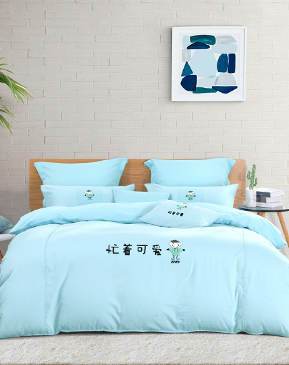【21新品】全棉卡通四件套纯棉床单被套儿童床上用品套件