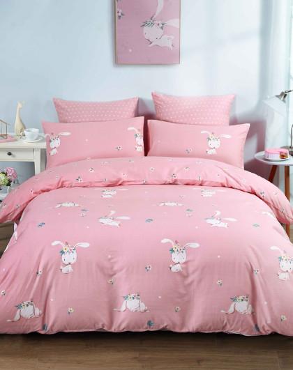 全棉卡通三/四件套纯棉床单被套床上用品儿童纯棉套件