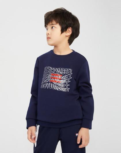 童装21新品男童柔软舒适套头卫衣儿童透气长袖T恤打底衫